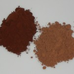 Cocoa powder: Dutch process and plain