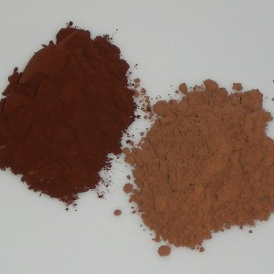 Cocoa powder: Dutch process and plain