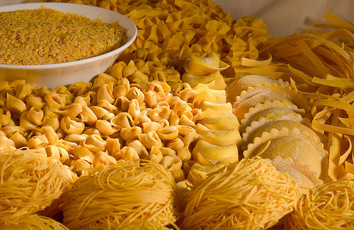 Fresh pasta (Pasta fresca / Pasta casalinga)