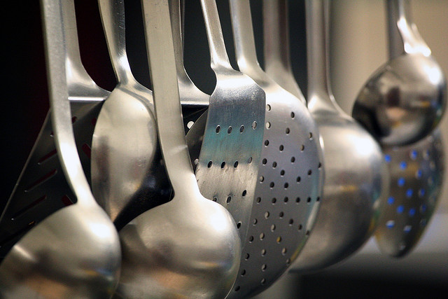 Utensils by Alfonso Pierantonio