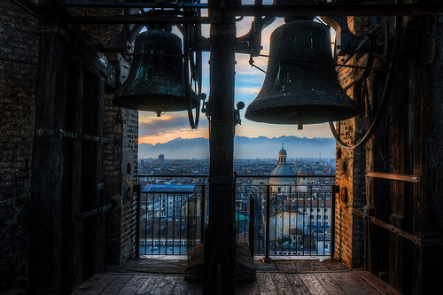 From the bell tower of the Duomo in Turin by Andrea Mucelli