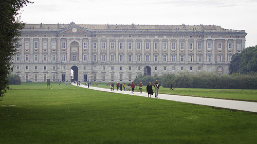 Palace of Caserta by Nicola