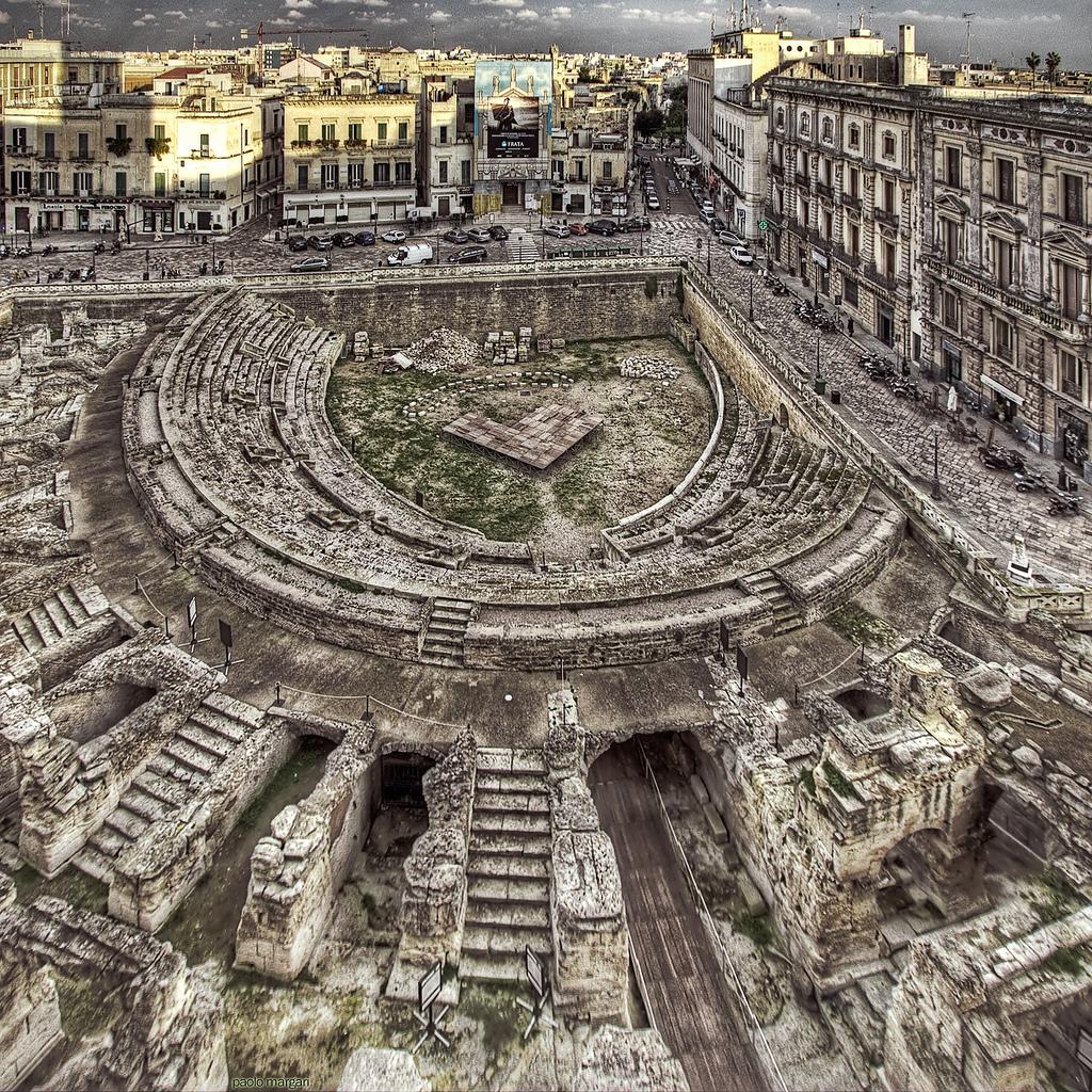 Roman Amphitheatre in Lecce by Paolo Margari