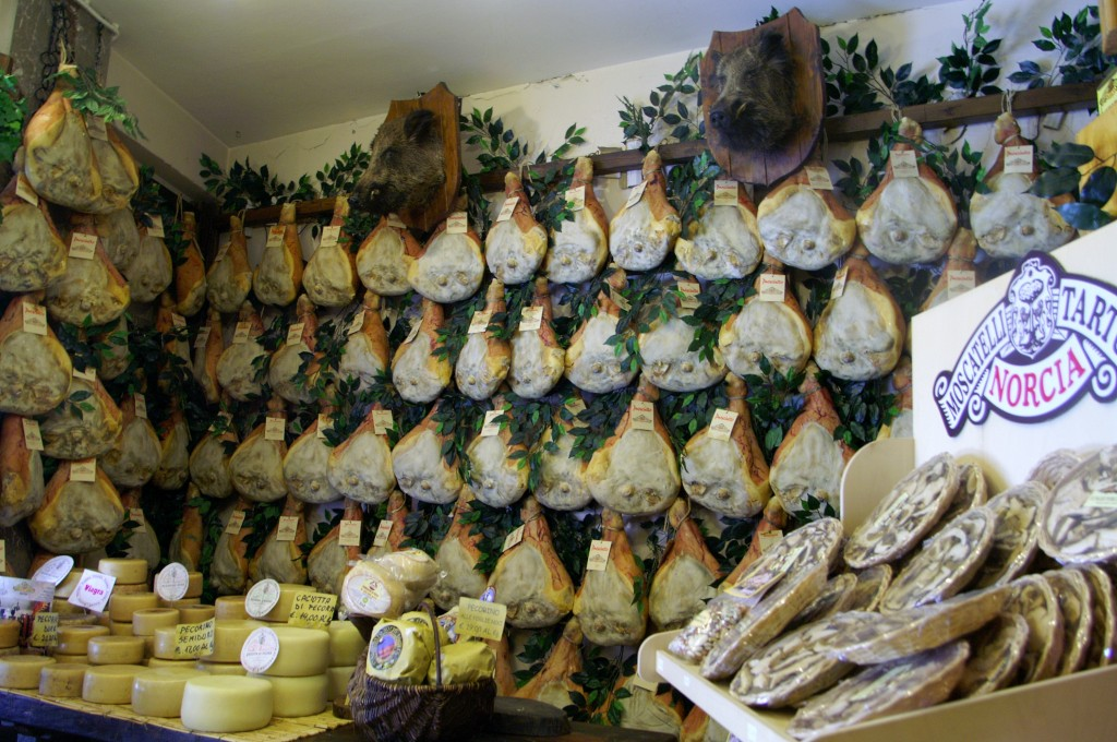 Salumi from Norcia by Tiemen Slingerland