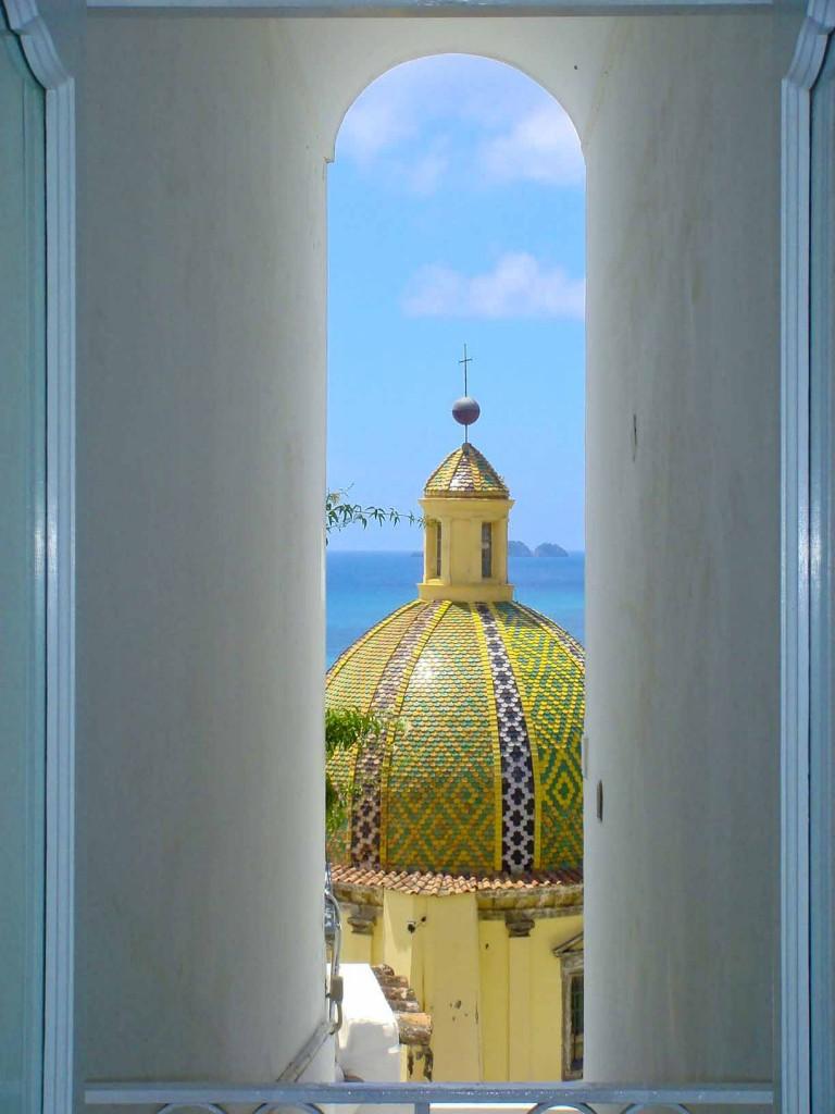 Cupola in Positano