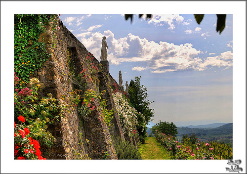 Abbazia di Rosazzo in the Collio by Bernhard Latzko