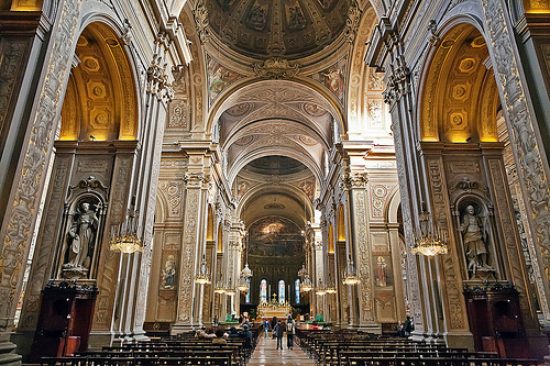 Inside the duomo in Ferrara by Alessandro Grussu