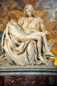 La Pieta by Michelangelo by Dennis Jarvis