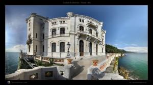 Miramare Castle by Spettacolopuro