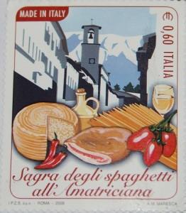 Sagra degli spaghetti all'amatriciana by Lorcatj