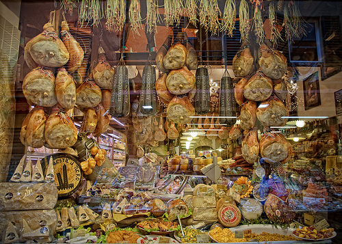 Salumeria on Via Pescherie Vecchie by Scott D. Haddow