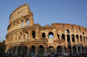 The Colesseum in Rome by Nina