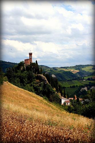 Torre dell'orologio in Brisighella by Luca Argalia