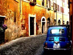Trastevere in Rome by Mozzercork