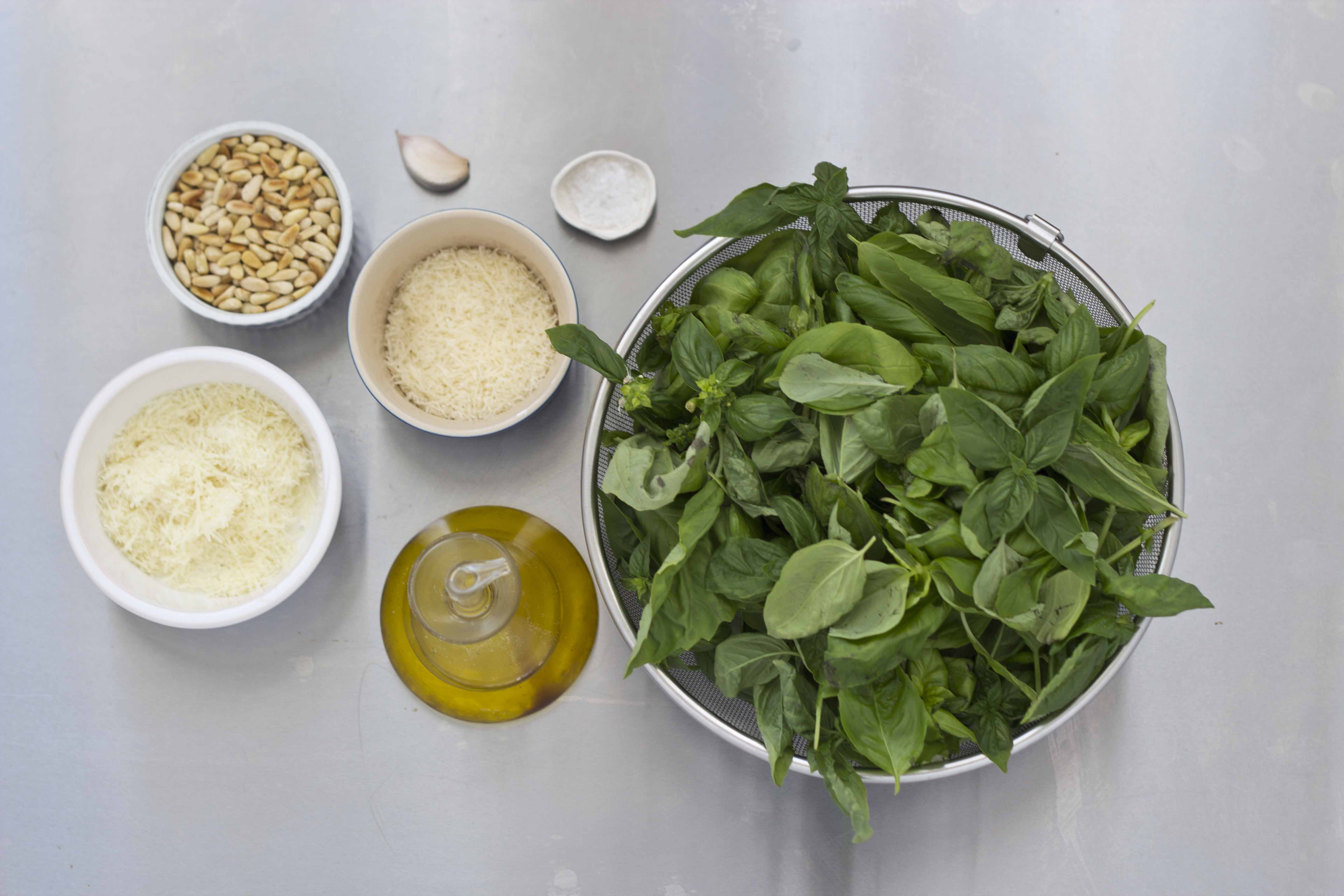 A Simple Authentic Recipe For Pesto Sauce From Liguria Incomparable To Store Bought Living A Life In Colour