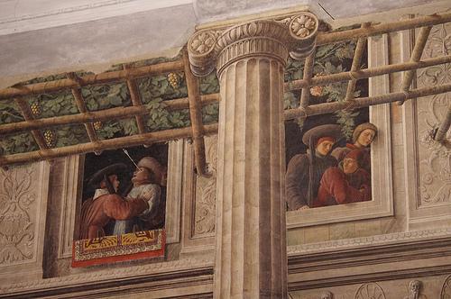 Frescoes inside the Chiesa degli Eremitani, Padova by David Bramhall