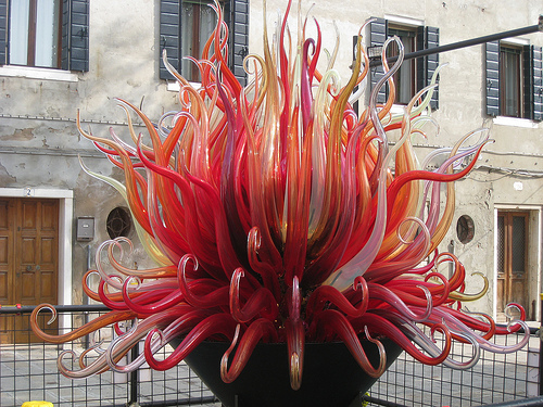 Murano glass by Jay Galvin