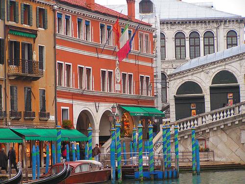 Ponte Rialto in Venezia by Ramzi Dziri