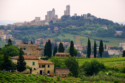 San Gimignano by Mathias Liebing