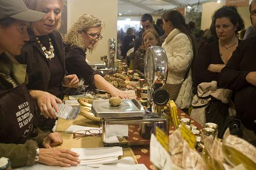 San Miniato truffle market by Alessandro Giannini