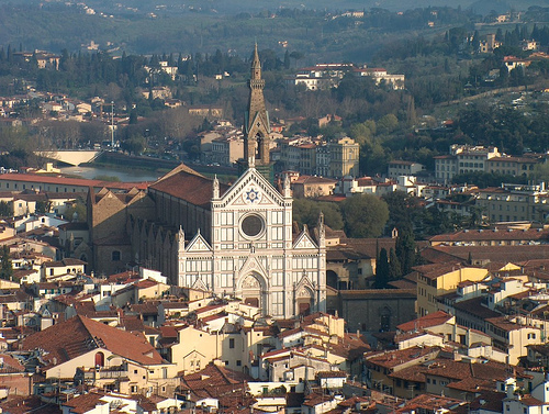 Santa Croce, Firenze by Axel Vogt