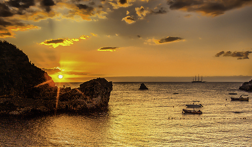 Sunrise at Taormina