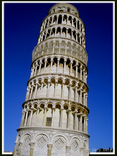 The Leaning Tower of Pisa by G.D. Vicente Torres