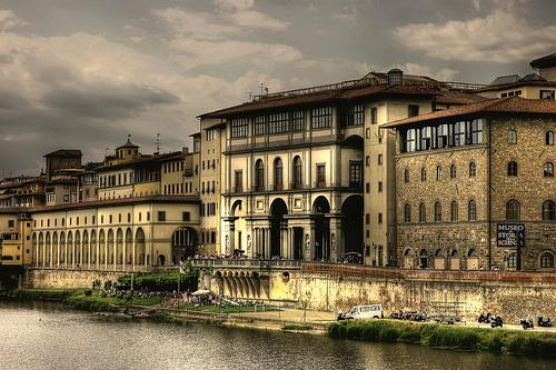 Uffizi, Firenze by Giuseppe Moscato