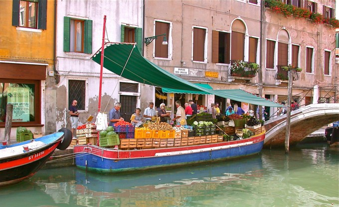 Venetian vegetable boat by Lizzy D S