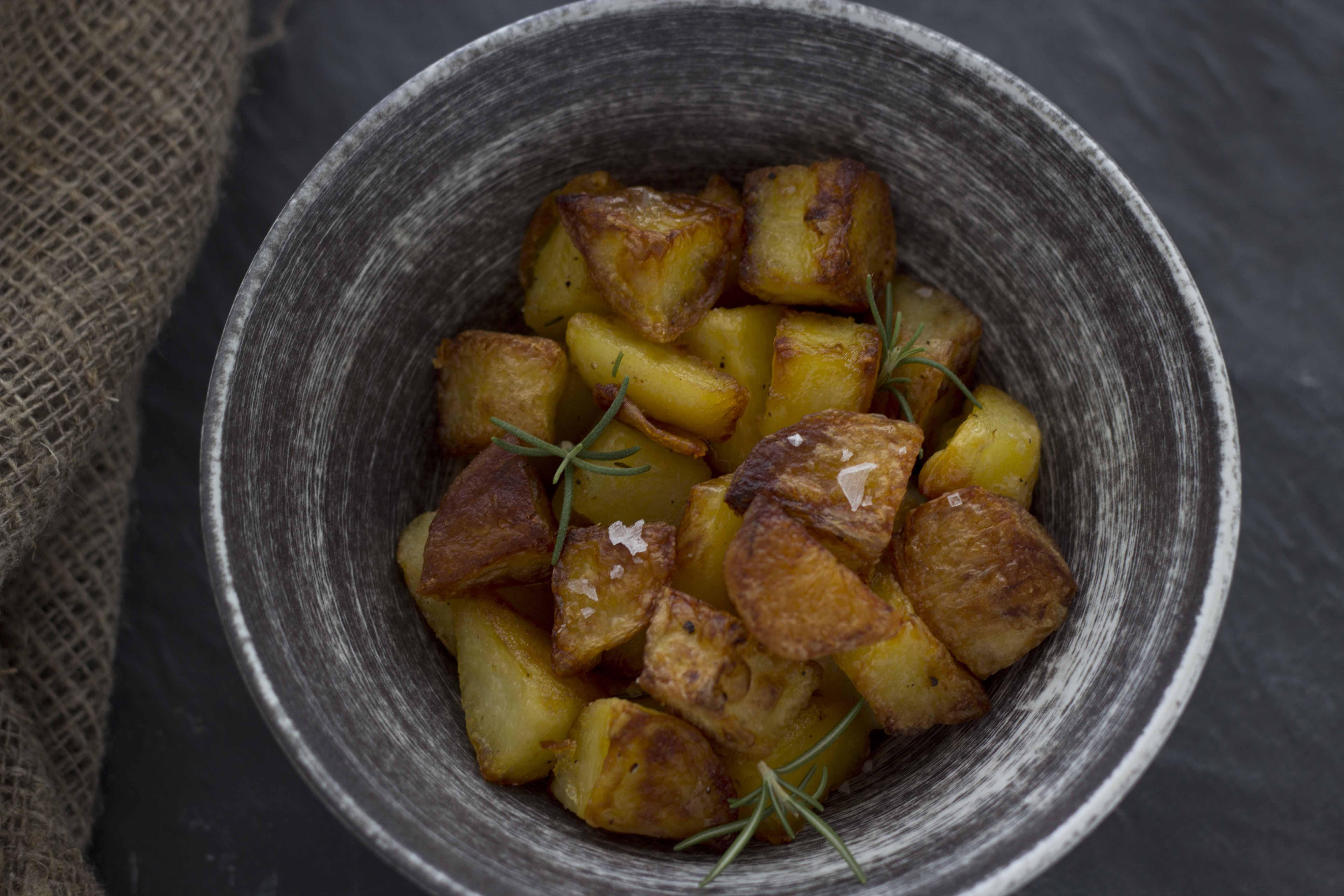 how to make extra crunchy roast potatoes