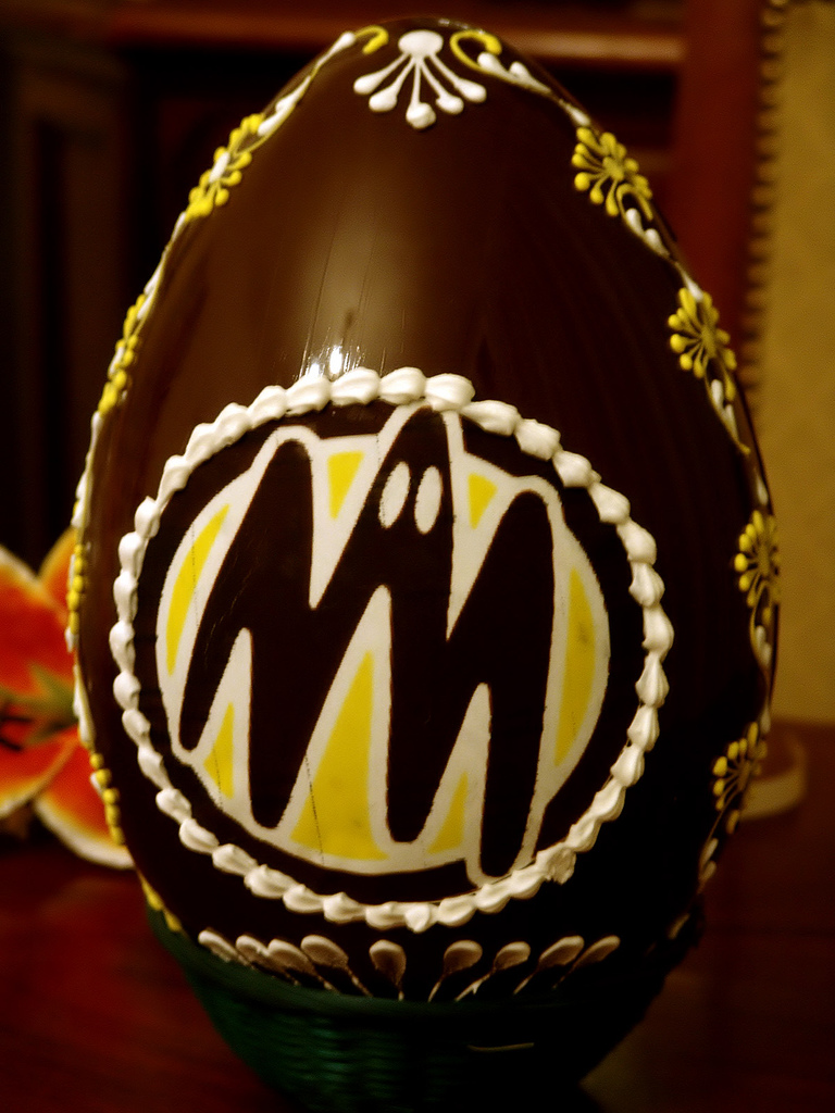 Chocolate Easter egg by Gianluca Neri