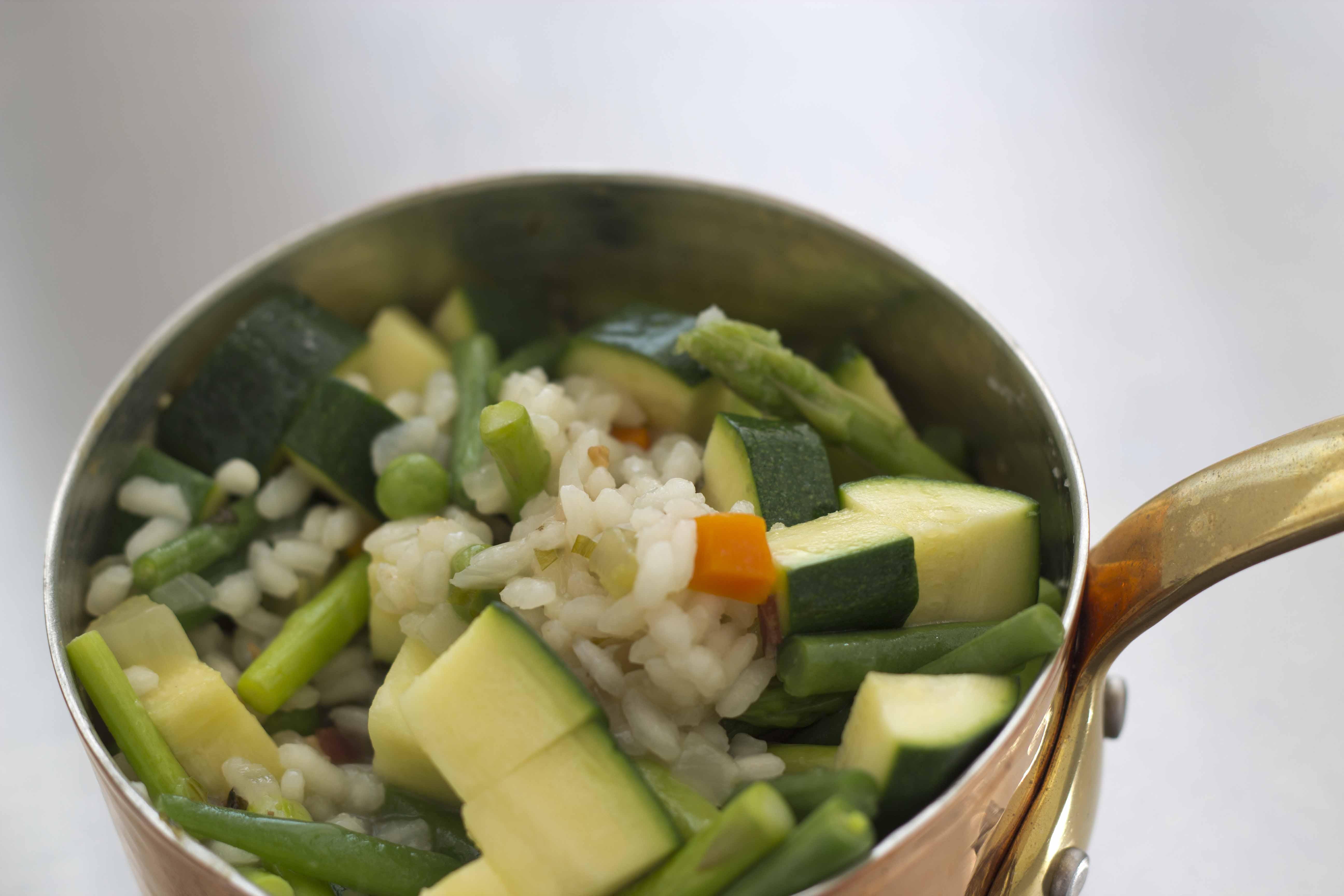 Risotto alla primavera (spring vegetable risotto) from ...