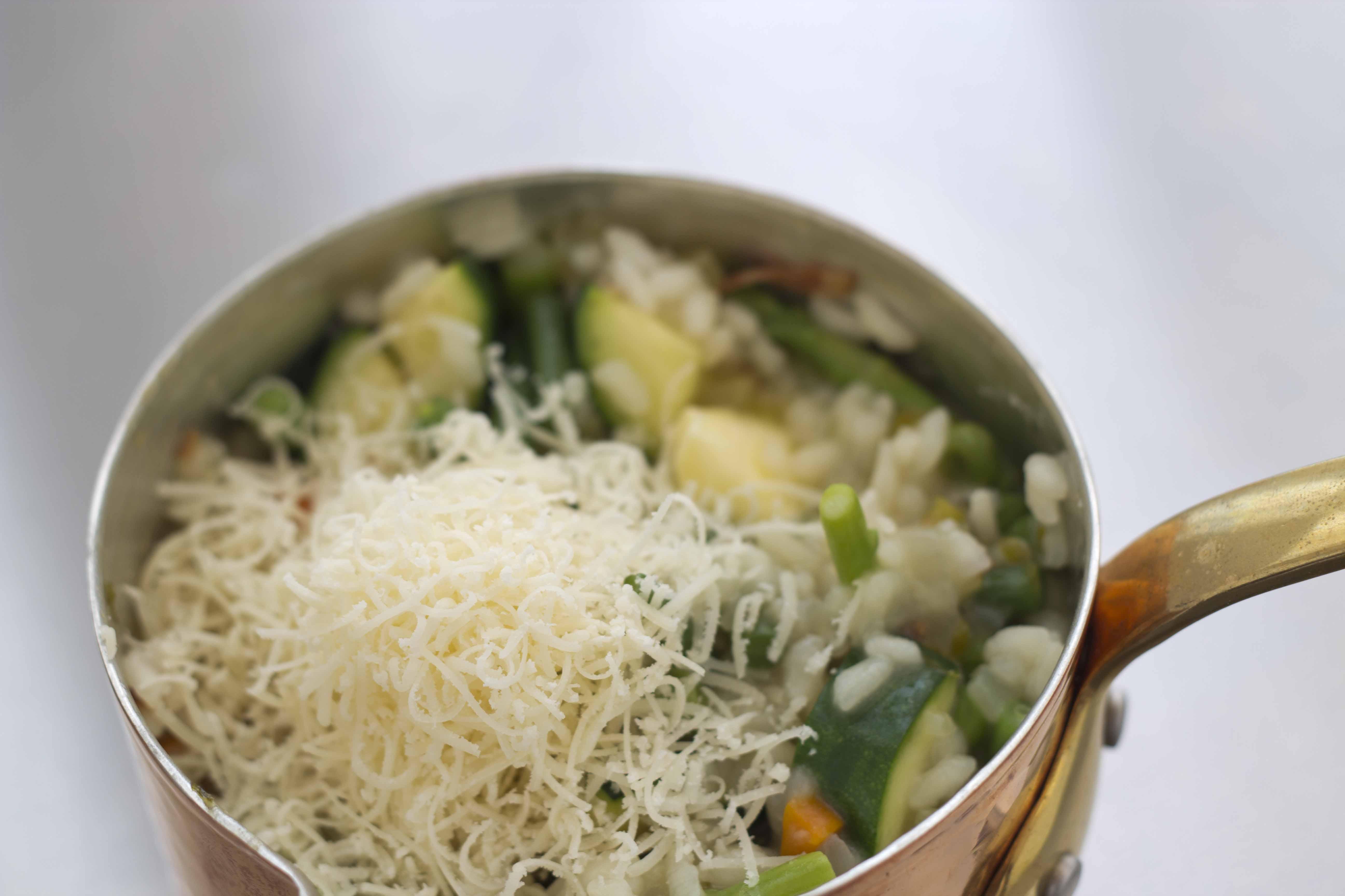Risotto alla primavera (spring vegetable risotto) from Veneto | Living ...