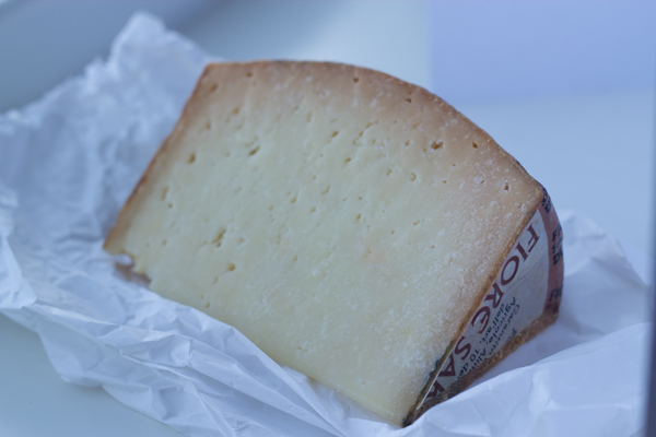 Fiore Sardo (a lightly smoked pecorino cheese)