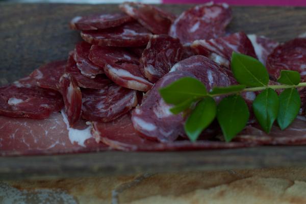 Sardinian cured sausage