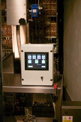 The cork testing machine