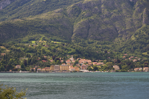 View of Tremezzo from Bellagio