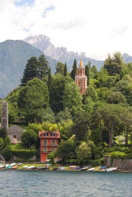 Near Bellagio on Lago di Como