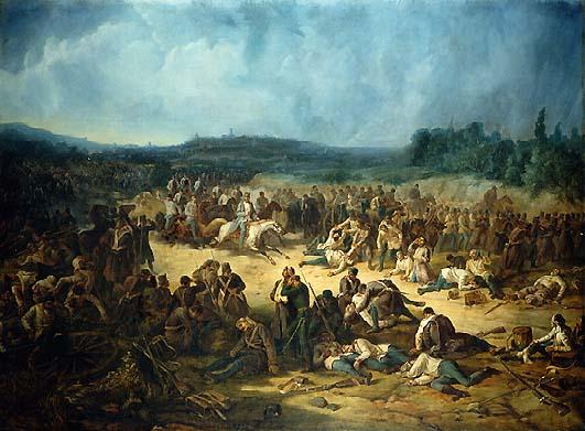 Battle of Solferino by Museo nazionale del Risorgimento, Torino