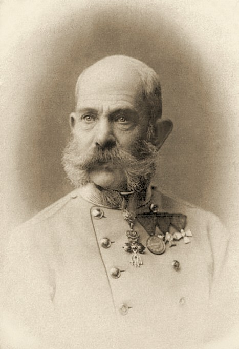 Franz Joseph I of Austria by Unknown (19??-19??) [Public domain], via Wikimedia Commons