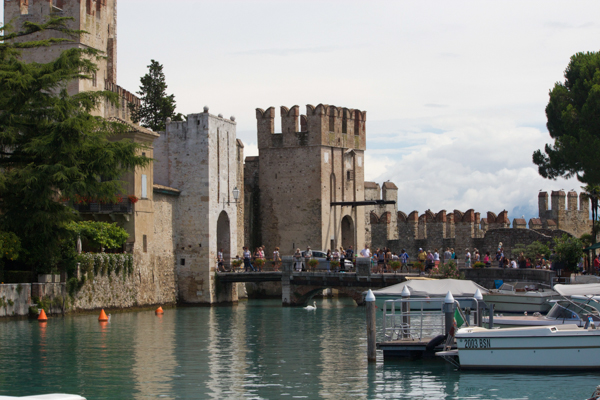 Entrance to Sirmione