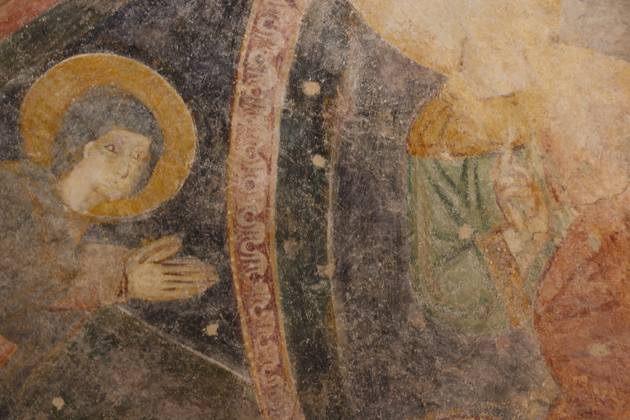 12th century frescoes discovered