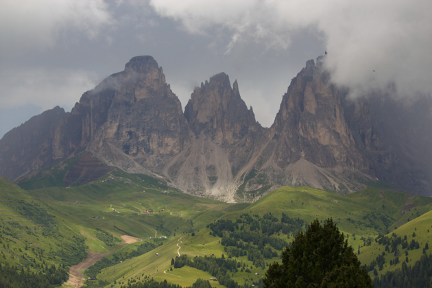 One of the world's most beautiful drives: Strada delle Dolomiti