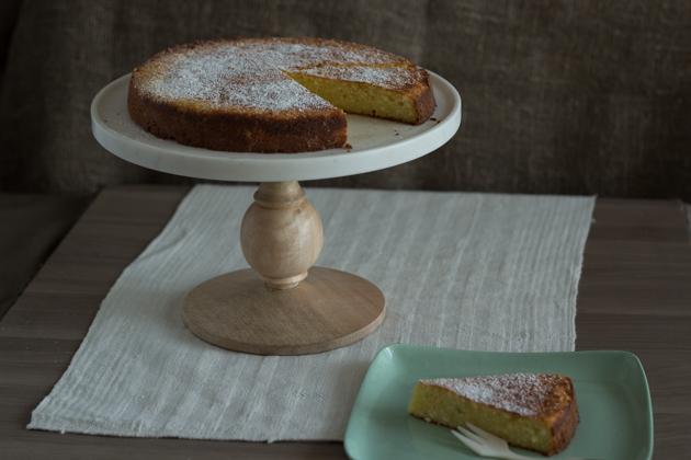 Torta Di Ricotta E Limone Lemon Ricotta Cake Sardegna