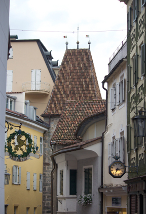 The old town of Merano