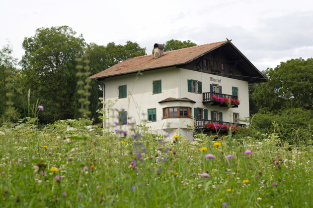 Traditional Tyrolean house