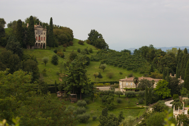 View from Villa Cipriani in Asolo