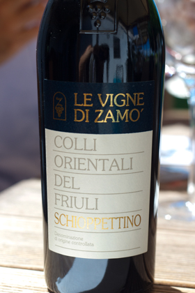 Schiopettino, Colli Orientali del Friuli DOC