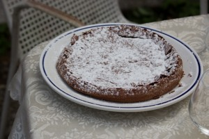 Torta barozzi (chocolate, rum and coffee cake)