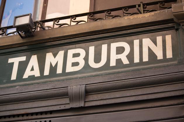 Tamburini - a foodie mecca